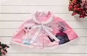 Capa da Anna e Elsa - Frozen - Rosa