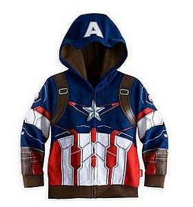 Casaco do Capitão América - Coleção Super Heróis