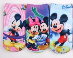 Kit de Meias do Mickey e Minnie