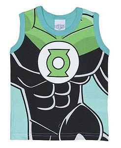 Regata Infantil Lanterna Verde Liga da Justiça -Brandili