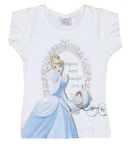 Blusa Cinderela com Brilhos - Off White - Brandili