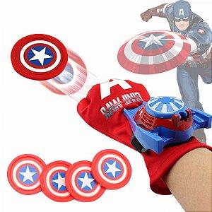 Luva Lançadora do Capitão América