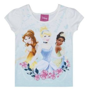 Blusa Princesas Disney - Off White - Brandili