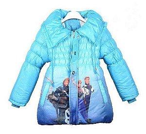 Casaco Forrado da Frozen - Azul