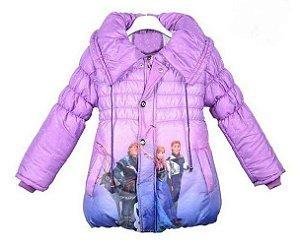 Casaco Forrado da Frozen - Lilás