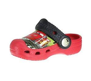 Crocs Carros - Vermelho e Preto