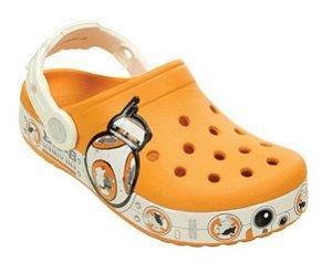 Crocs Star Wars Hero Clog BB8 - Laranja e Branco