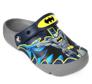 Crocs Fun Lab Batman - Cinza e Preto