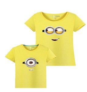 Camiseta Minions - Tal Mãe Tal Filha / Filho - Amarela