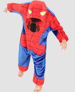 Pijama Soft do Homem Aranha - Manga Longa