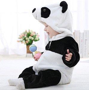 Tip Top de Soft - Manga Longa - Ursinho Panda