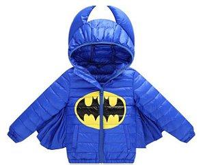 Casaco do Batman com Asas - Nylon - Azul
