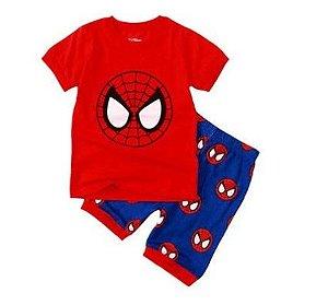 Pijama do Homem Aranha - Vermelho e Azul