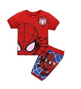 Pijama do Homem Aranha - Vermelho, Azul e Branco
