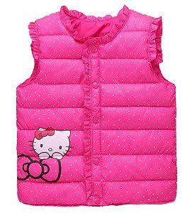 Colete da Hello Kity - Pink Poá