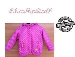 Jaqueta Lilica Ripilica Baby com Capuz Removível - Pink
