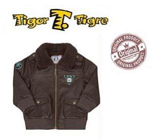 Jaqueta Tigor T Tigre Baby - Marrom