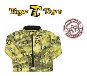 Jaqueta Tigor T Tigre Baby - Amarelo e Preto