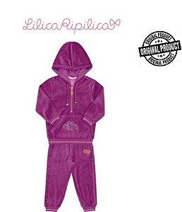 Conjunto da Lilica Ripilica Baby - Roxo com Strass