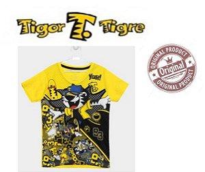 Camiseta Tigor T Tigre - Amarela