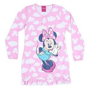 Camisola Minnie - Disney - Rosa e Branco - Lupo