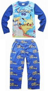 Pijama Pokémon Go - Pikachu - Azul e Amarelo