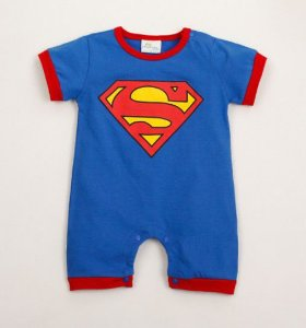 Body do Superman - Azul