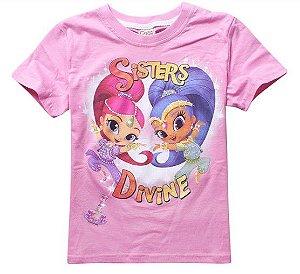 Blusa da Shimmer and Shine - Rosa Claro