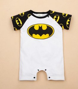 Body do Batman - Branco e Preto
