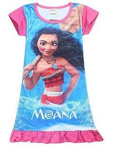 Vestido da Moana - Rosa