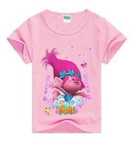 Blusa Trolls - Rosa Claro