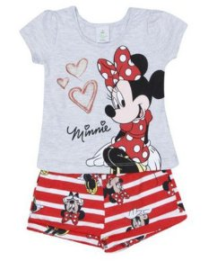 Conjunto de Blusa e Short - Minnie - Disney Baby - Brandili