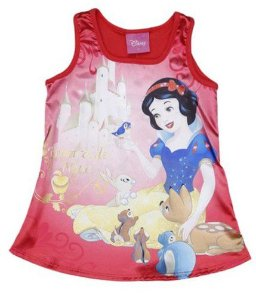 Blusa Acetinada Branca de Neve - Disney - Brandili