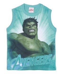 Regata do Incrível Hulk - Avengers - Verde - Brandili