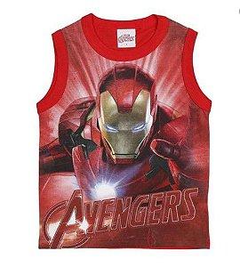 Regata do Homem de Ferro - Avengers - Vermelha - Brandili