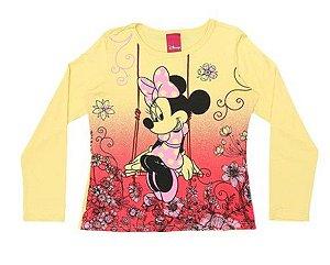 Blusa da Minnie - Amarela Degradê - Cativa Disney