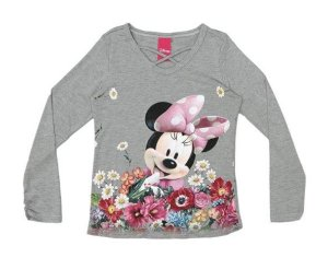 Blusa da Minnie - Cinza - Cativa Disney