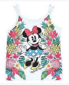 Blusa Infantil Minnie Floral - Cativa Disney