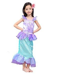 Fantasia da Sereia Ariel - Disney