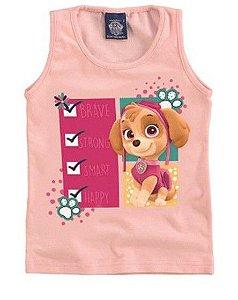 Blusa Bebê Patrulha Canina Skye Rosa Claro - Malwee
