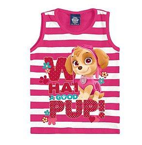 Blusa da Skye - Patrulha Canina - Listrada Rosa - Malwee