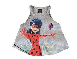 Blusa Miraculous - Ladybug - Mescla - Malwee