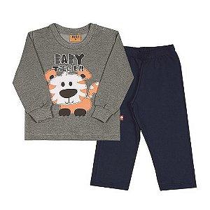 Conjunto de Blusão e Calça do Tigre