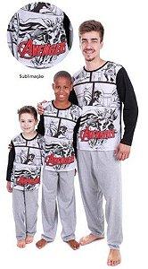 Pijama do Avengers - Coleção Pai e Filho - Marvel