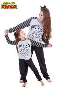 Pijama Mônica e Magali - Coleção Mãe e Filha - Turma da Mônica