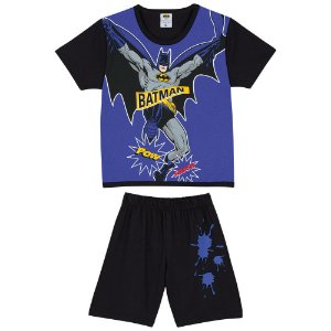 Pijama do Batman - Azul e Preto - Lupo