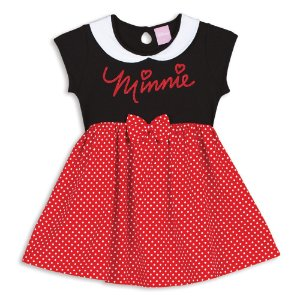 Camisola Minnie - Disney  - Vermelha e Preta - Lupo