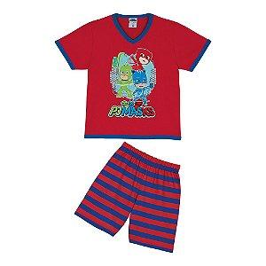 Pijama do PJ Masks - Vermelho - Lupo