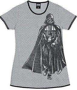 Camisola Infantil Star Wars Cinza e Prata - Lupo
