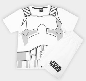 Pijama do Star Wars Stormtrooper  - Disney - Lupo
